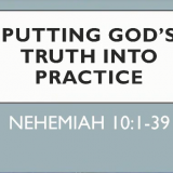 Putting God's Truth into Practice