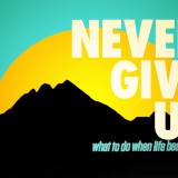 NEVER-GIVE-UP-message-banner